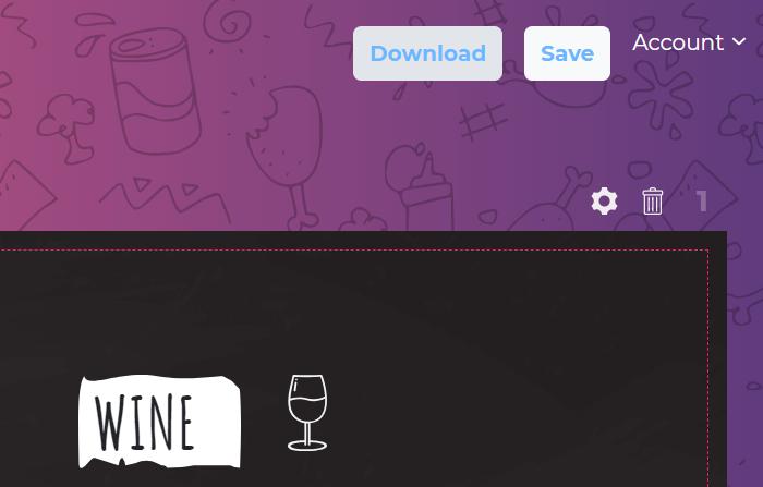 Printing your restaurant menu to PDF