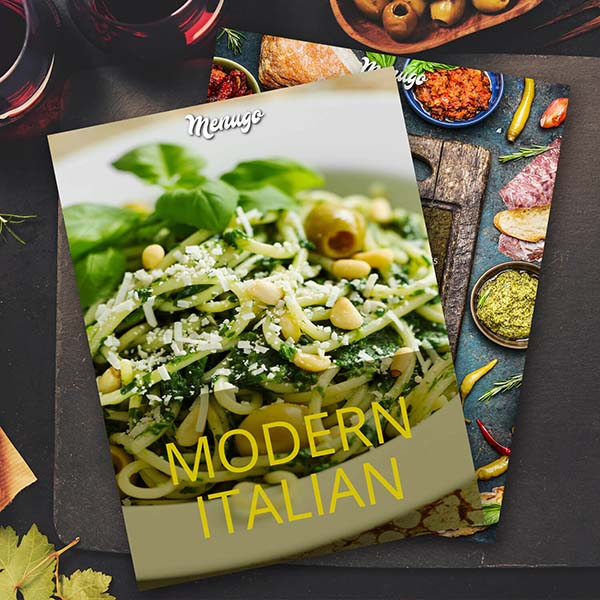 Juicy Italian Menu Theme Menu Design