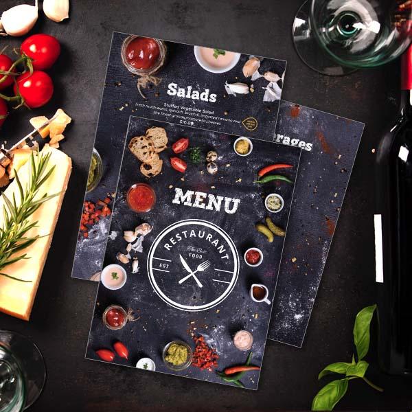Modern Restaurant Menu Menu Design